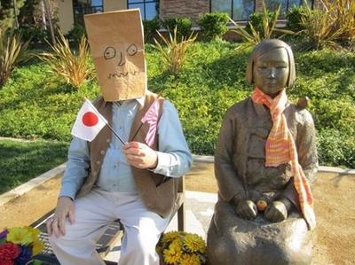 テキサス親父とグレンデール市の慰安婦像.PNG