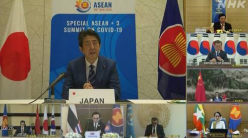 ASEAN日中韓首脳・新型コロナ.PNG