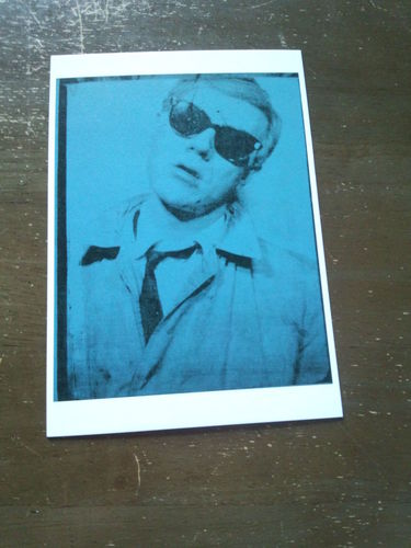 Andy Warhol 自画像・はがき.jpg
