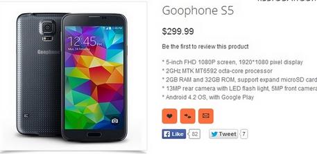 「Goophone S5」製品ページ.PNG