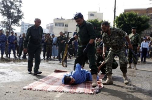イエメンで公開処刑.PNG