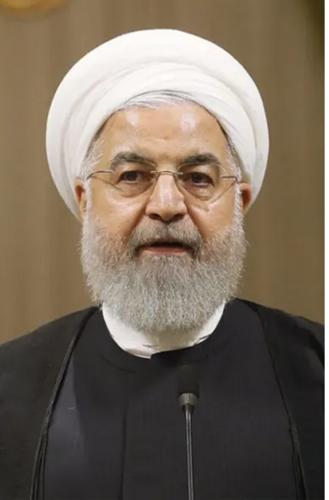 イランのロウハニ大統領.PNG