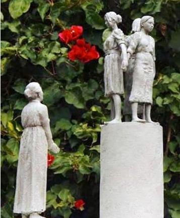 サンフランシスコに設置される予定の少女像のデザイン.PNG