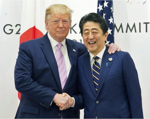 トランプと安倍晋三・G20大阪.PNG
