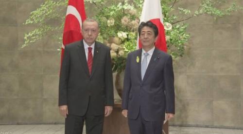 トルコのエルドアン大統領と安倍晋三.PNG