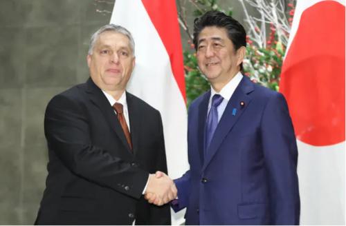 ハンガリーのオルパン首相と安倍晋三.PNG