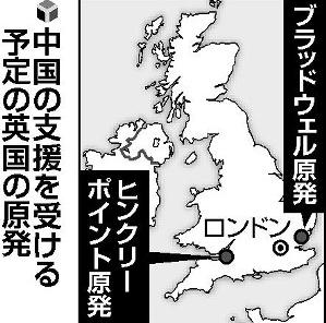 中国の支援を受ける予定の英国の原発.PNG