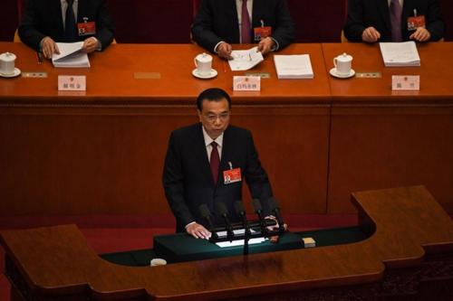 中国の李克強首相・全人代.PNG