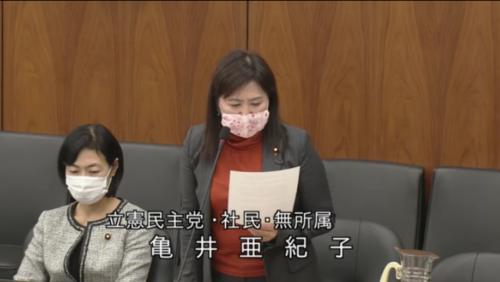 亀井亜紀子・種苗法改正案・反対討論・11月17日.PNG