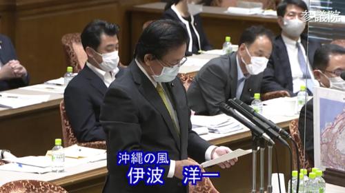 伊波洋一・土地規制法案・質疑・参院連合審査会.PNG