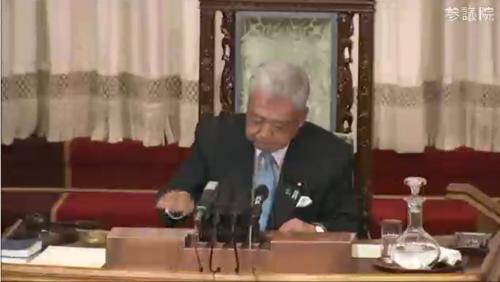 伊達忠一(参議院議長)・カジノ法案.PNG