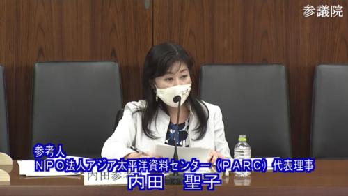 内田聖子(参考人・RCEP承認案.PNG