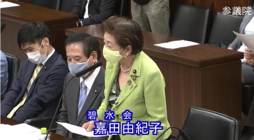 嘉田由紀子(碧水会)・少年法改正案・反対討論・参院法務委員会.PNG