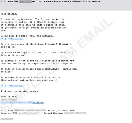 図1:ビットコインに関するスパムメールの一例.PNG