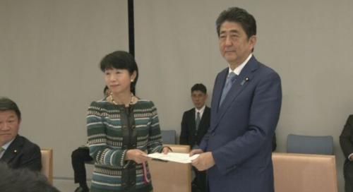 大田弘子と安倍晋三.PNG