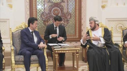 安倍晋三とオマーンのアスアド国王特別代理.PNG