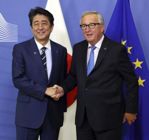安倍晋三とユンケル・EU.PNG