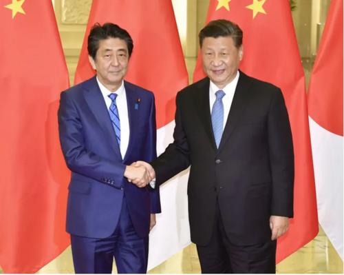 安倍晋三と習近平・北京.PNG