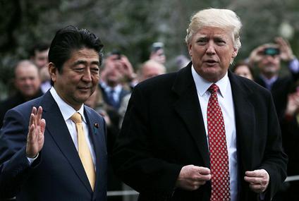 安倍首相とトランプ大統領・外交.PNG