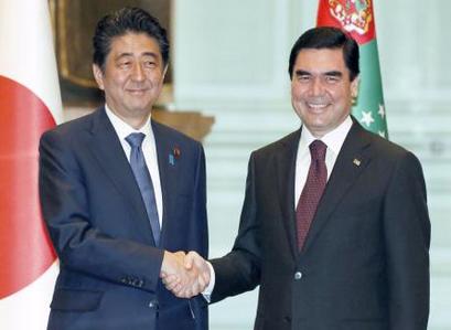 安倍首相・トルクメニスタン.PNG