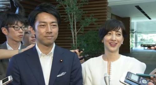 小泉進次郎と滝川クリステル・結婚と妊娠.PNG