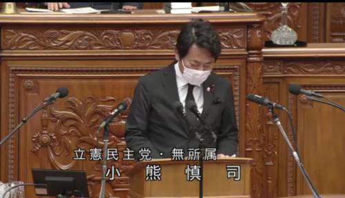 小熊慎司・RCEP承認案・質疑・衆院本会議.PNG