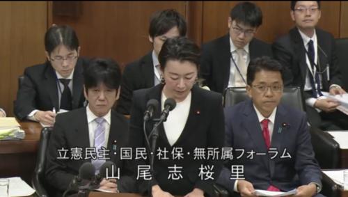 山尾志桜里・会社法修正案・趣旨説明.PNG