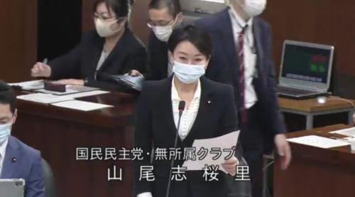 山尾志桜里・日英FTA承認案・質疑・11月18日.PNG