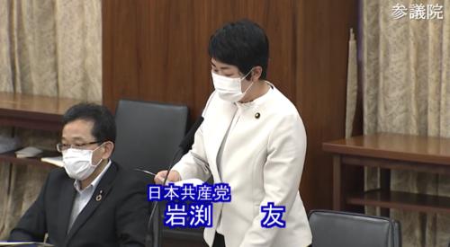 岩渕友(日本共産党)・5G促進法案・反対討論.PNG