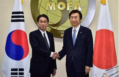 岸田文雄外相と韓国の尹炳世外相.PNG