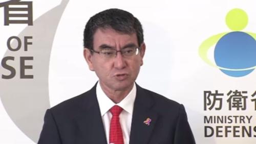 河野太郎・北ミサイル・10月31日.PNG