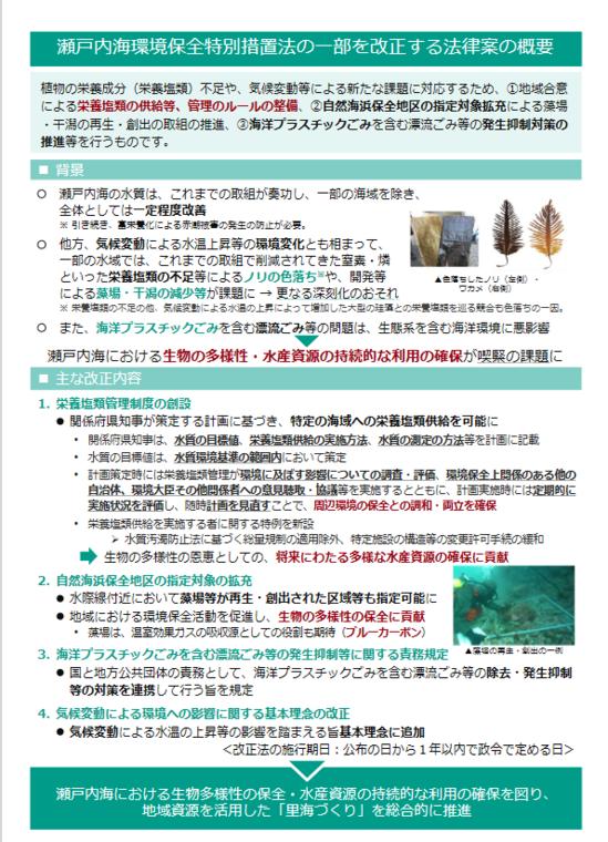 瀬戸内海環境保全特別措置法改正案・概要2.PNG