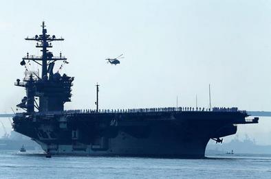 米空母打撃群が朝鮮半島へ.PNG
