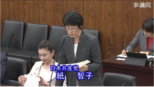 紙智子・農林水産物・反対討論.PNG