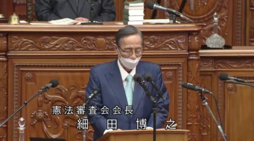 細田博之(憲法審査会会長)・国民投票法改正案・修正議決を報告.PNG