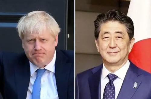 英国のジョンソン首相と安倍晋三.PNG