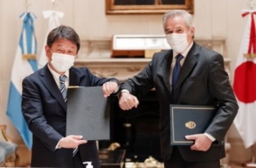 茂木敏充とアルゼンチンのソラー外務大臣.PNG