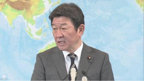茂木敏充・外務省・新型肺炎・渡航.PNG