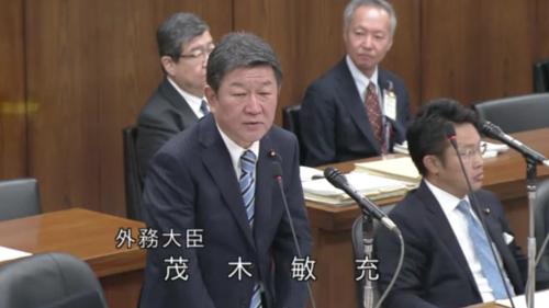 茂木敏充・日米貿易協定の答弁・衆院外務委員会.PNG