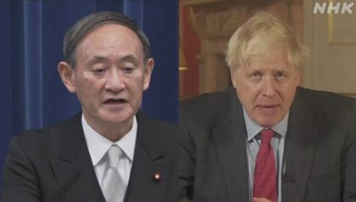 菅義偉と英国のジョンソン首相.PNG
