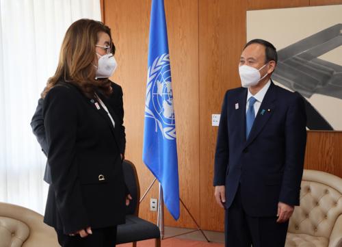 菅義偉・国連薬物犯罪事務所のトップと会談.PNG