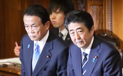 麻生太郎と安倍晋三・予算.PNG
