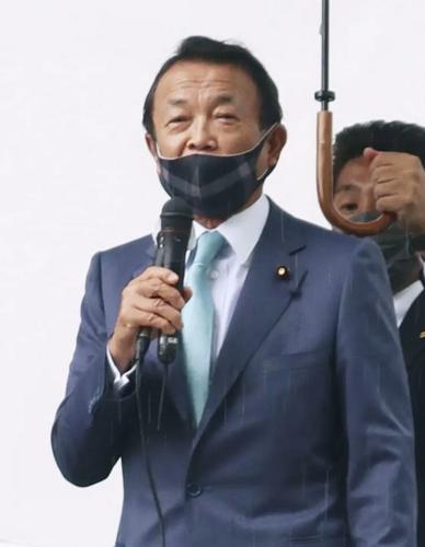 麻生太郎・小池の過労.PNG