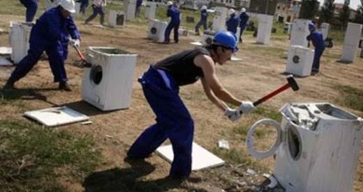 LGがサムスン洗濯機を損壊.PNG