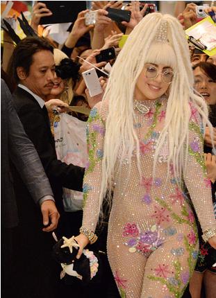 Lady GaGa シースルー.PNG