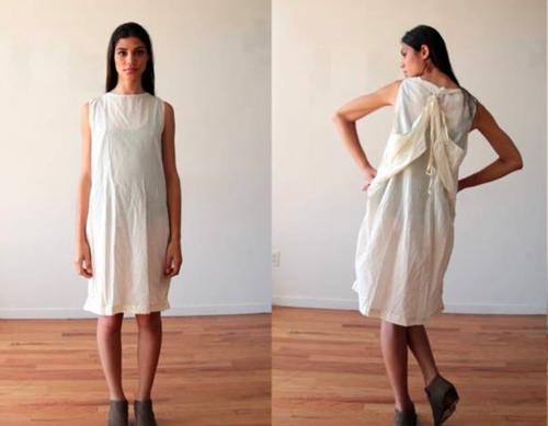 NYブランドの難民ドレス.PNG